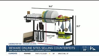 Beware Online Sites Selling Counterfeits