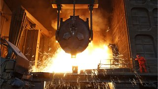 China Increases Steel Output