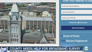 Erie Co. wants to test your internet - Video
