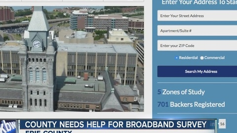 Erie Co. wants to test your internet