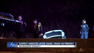 Suspect arrested in Milwaukee County following high-speed chase, drone search - Video