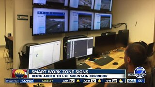 Smart Signs being added on I-70 Mountain corridor construction zone