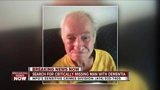 Milwaukee police looking for critical missing 72-year-old man - Video