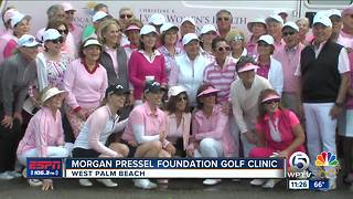 Morgan Pressel Foundation Golf Clinic - Video