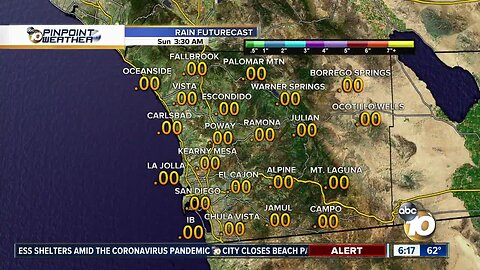 10news Weather with Meteolorologist Angelica Campos