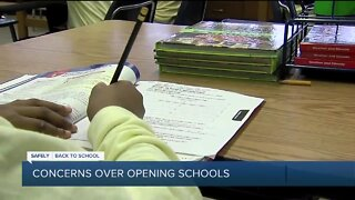 Safely Back to School: Concerns over opening school