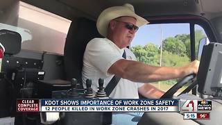 Slow down, move over for construction crews - Video