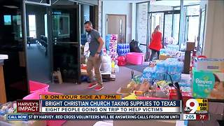 Bright Christian Church taking supplies to Texas - Video