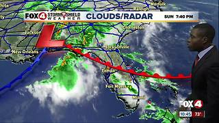 Tracking a cold front