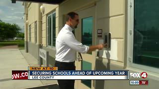 Securing schools ahead of upcoming year - Video