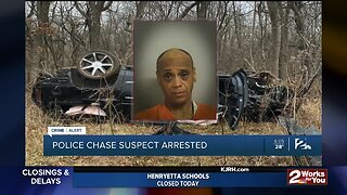 Police Chase Suspect Arrested