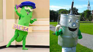 5 of the All-Time Goofiest College Mascots - Video