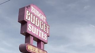 1 dead, 1 critical in double stabbing at Budget Suites - Video