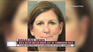 Boca Raton mayor drops out of Palm Beach County commissioner's race after arrest