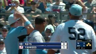Tampa Bay Rays relievers come through in 3-1 win over New York Yankees