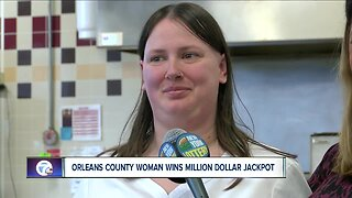Orleans County woman wins million dollar jackpot