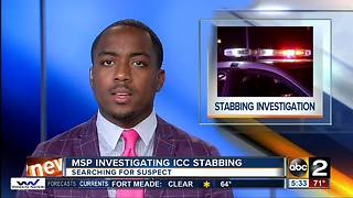 Maryland State Police investigating ICC stabbing - Video