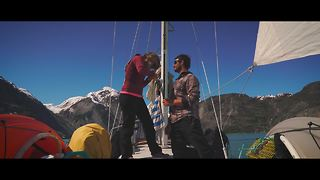 Surprise wedding proposal on a sailboat in Glacier Bay, Alaska - Video