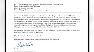 Hiring Freeze for Michigan State workers lifted