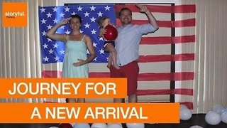Family Journey From Africa to America for a New Arrival - Video