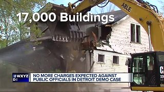 More charges expected in Detroit demolition probe