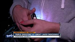 Witness Describes Great Lakes Dragaway Shooting - Video