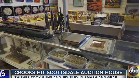 Auction house targeted by thieves in Scottsdale