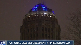 Buffalo goes blue for Law Enforcement Appreciation Day - Video