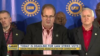 Deadline today for UAW unions to submit strike vote amid contract negotiations
