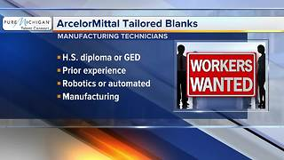 ArcelorMittal Tailored Banks hiring manufacturing techs - Video