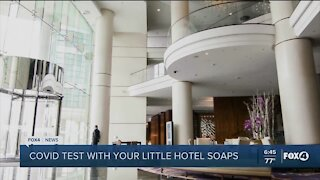 Hotels offer COVID testing