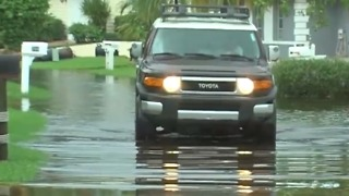 Flooding already happening in Palm Beach County