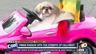 Pride parade hits the streets of Hillcrest