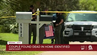 Couple found dead inside home in Martin County