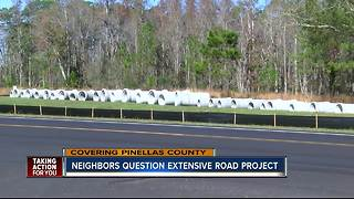 Neighbors demand answers from county after construction starts again weeks after a $6M road project - Video