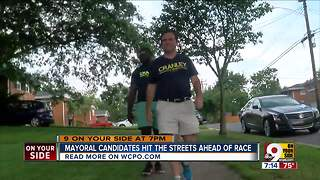 Mayoral candidates hit the streets ahead of race - Video
