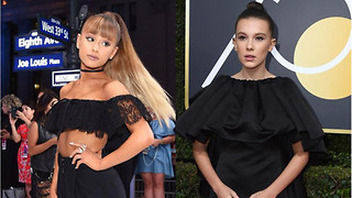 Ariana Grande Fangirling Over Millie Bobby Brown is Absolutely ADORABLE - Video