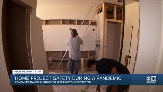 Home project safety changing during the pandemic