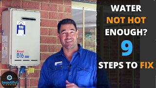 Not Enough Hot Water? Here's Why and A Solution