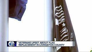 Metro Detroit veterans group upset over removal of POW/MIA flag - Video