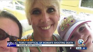 Family skeptical about woman's shooting death