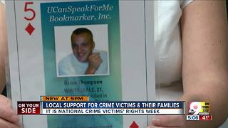 National Crime Victims' Rights Week can be tough reminder for victims' families - Video