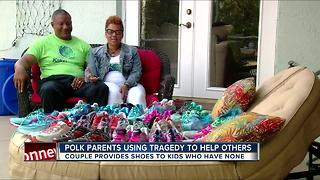 Polk Co. parents use tragedy to help others