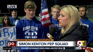 Simon Kenton pep squad leader talks about undefeated season - Video