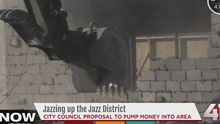 Jazzing up the jazz district - Video