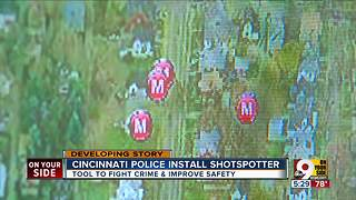 Cincinnati installing high-tech ShotSpotter system in Avondale - Video