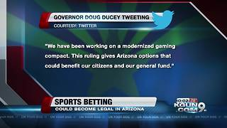 Supreme Court legalizes sports betting, where Arizona stands - Video