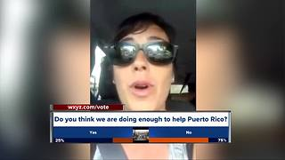 Six Michigan women return from Puerto Rico - Video