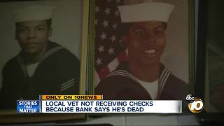 Local veteran believed dead by VA, bank