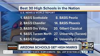 Arizona charter schools named best in nation - Video